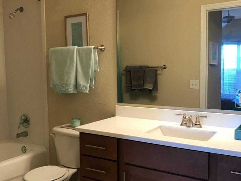 TGM Malibu Lakes Apartments Bathroom