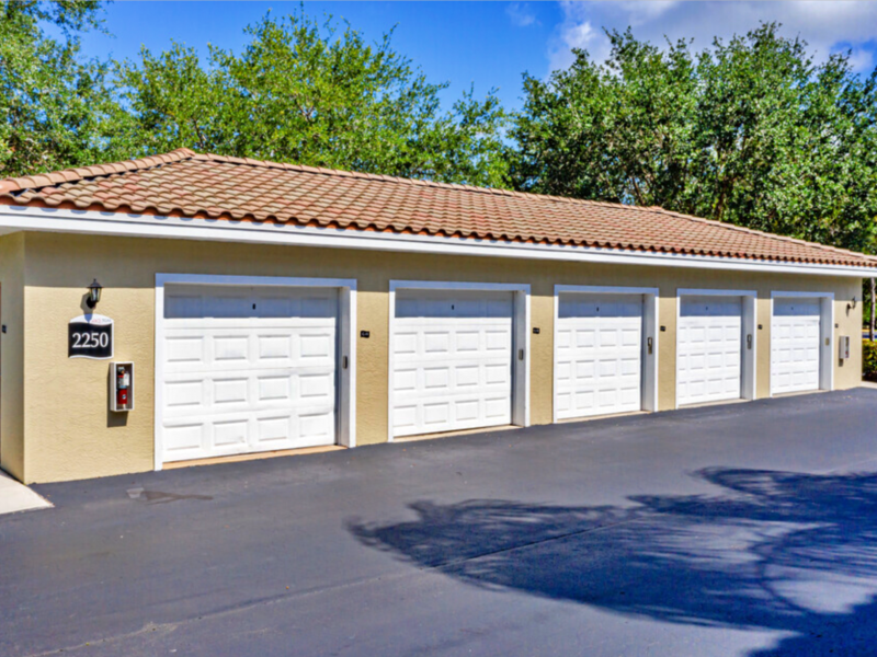 TGM Malibu Lakes Apartments Detached Garages