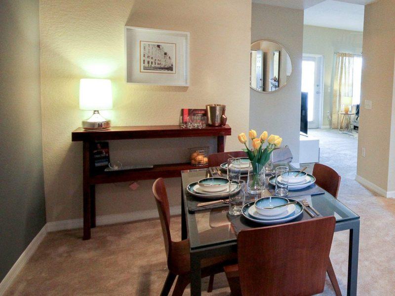 TGM Malibu Lakes Apartments Dining Room