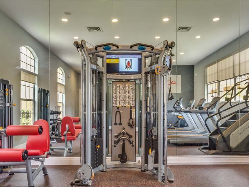 TGM Malibu Lakes Apartments Fitness Gym 2