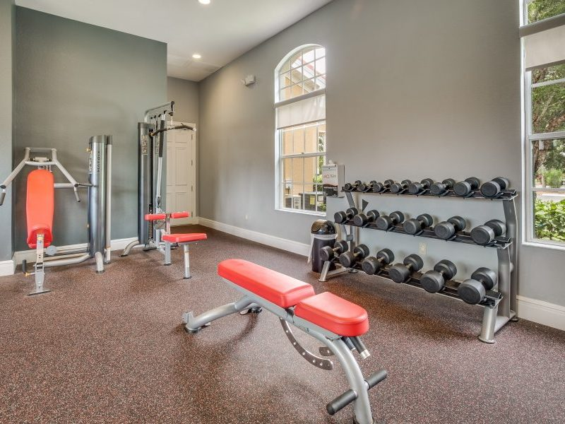 TGM Malibu Lakes Apartments Fitness Gym 3