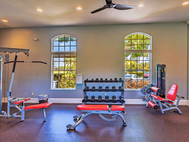 TGM Malibu Lakes Apartments Fitness Gym 4