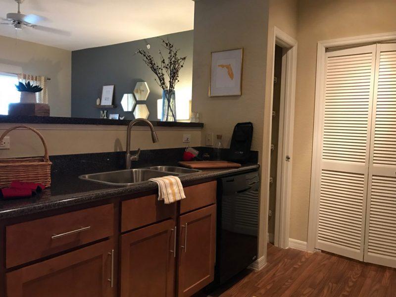 TGM Malibu Lakes Apartments Kitchen Island 2