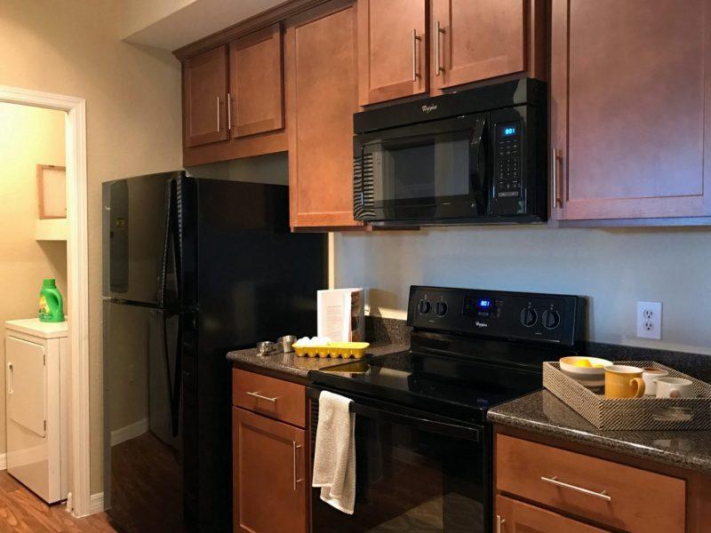 TGM Malibu Lakes Apartments Kitchen Island 3