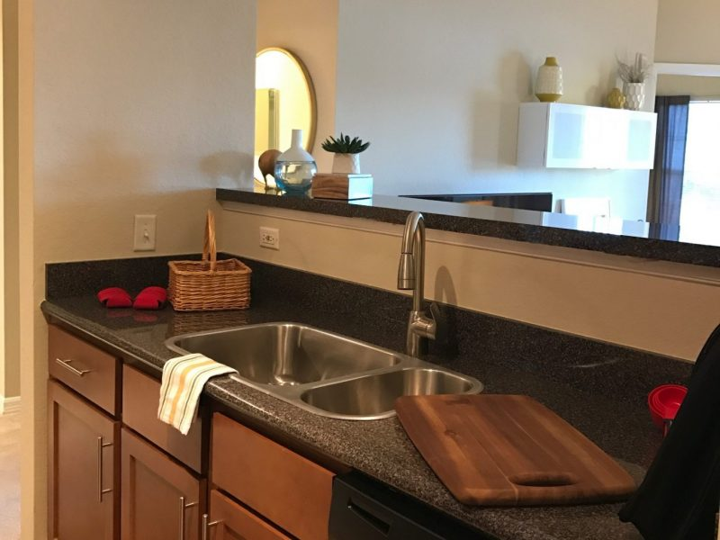 TGM Malibu Lakes Apartments Kitchen Island 4