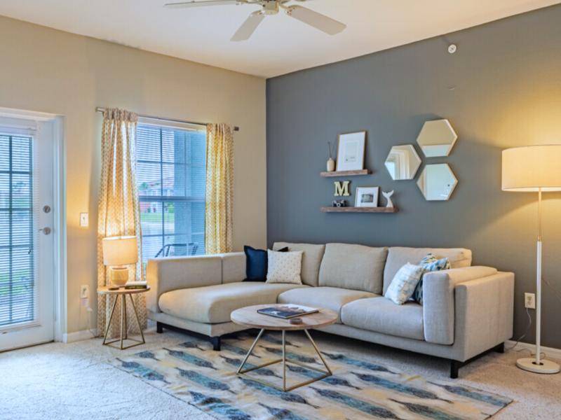 TGM Malibu Lakes Apartments Living Room 3