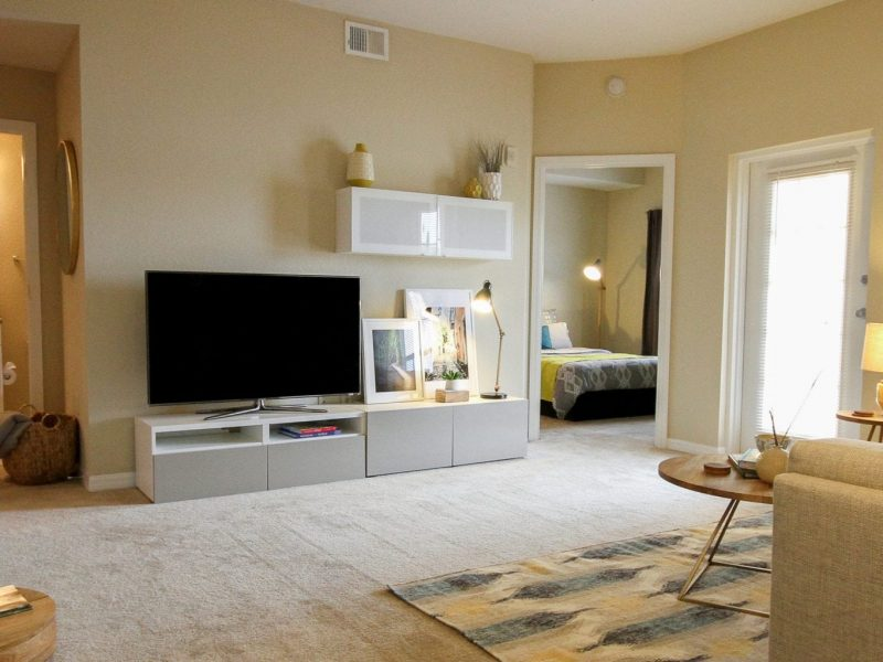 TGM Malibu Lakes Apartments Living Room