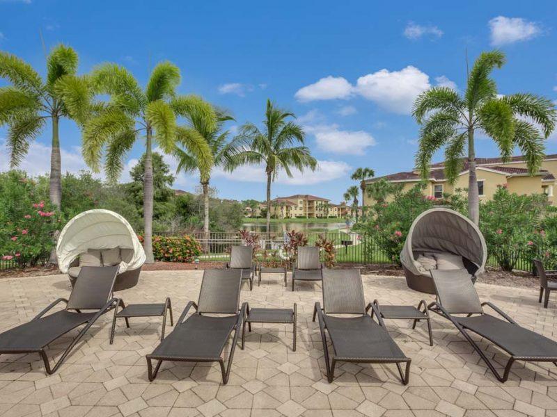 TGM Malibu Lakes Apartments Pool Beds