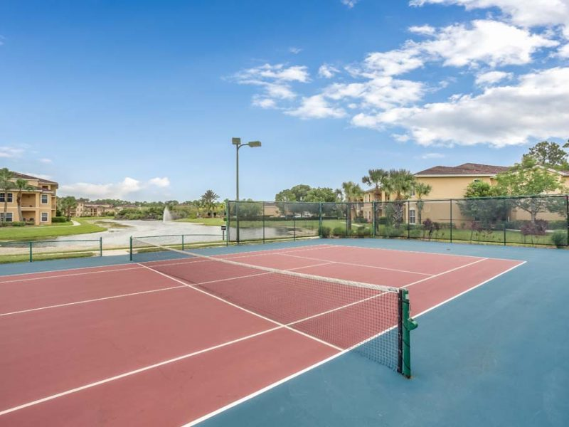 TGM Malibu Lakes Apartments Tennis Court